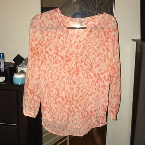 Coral Joie long sleeve blouse